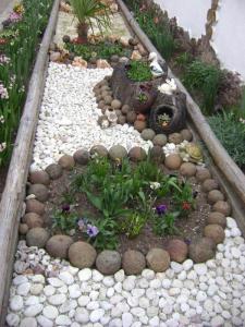 Revêtement des jardins
