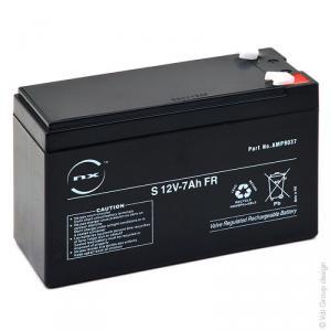Batterie plomb AGM S 12V-7Ah FR 12V 7Ah T1