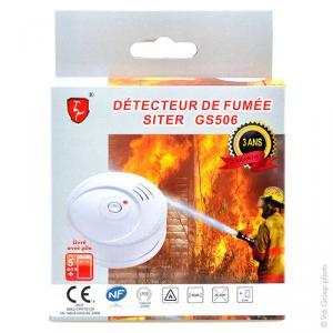 Détecteur de fumée photoélectrique NF SITER
