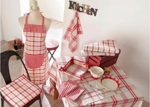 Serie linge de cuisine