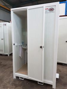 Cabine toilette individuel.