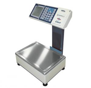 balance électronique poids/prix avec imprimante SUPREMA LIGHT AVEC COLONNE