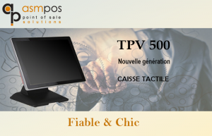 Caisse Tactile TPV 500