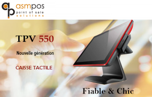 Caisse Tactile TPV 550