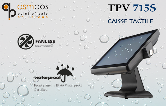 Caisse Tactile TPV 715S