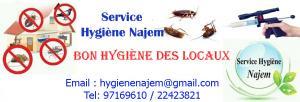 Société Hygiène LAOCLA de traitement cafards  en Tunisie