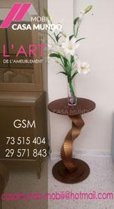 CASA MUNDO MOBILI:Table décortif