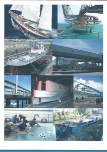 zinga Sur les navires et la structure marine
