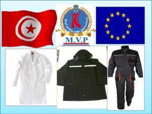 Vétements  de travail Professionnels  et Equipement de sécurité TUNISIE