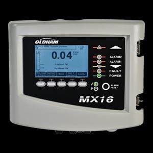 Centrale de détection gaz MX 16