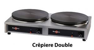 Crêpières double