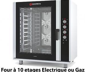 Four à 10 étage électrique ou gaz