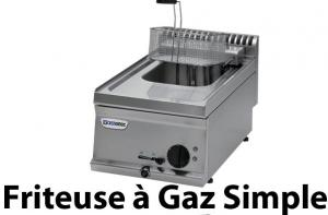 Friteuse à gaz simple