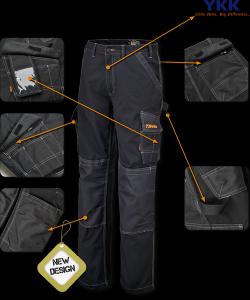 Pantalon de travail, style multi poches