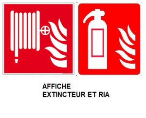 Signalisations graphiques sécurité incendie