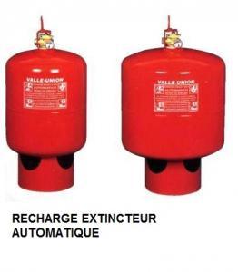 Recharge extincteur automatique