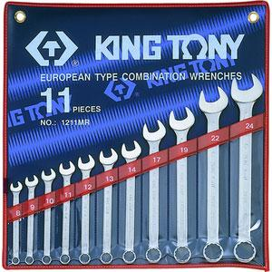 Trousse de clés mixtes 1211MR KING TONY