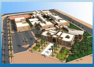 Etude et réalisation des établissements universitaires: ISET Tataouine