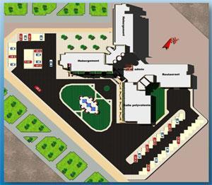 Etude et réalisation des hôtels: Réaménagement de l'hôtel Oubery à Lybie
