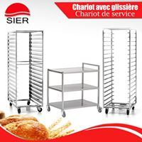 FABRICATION SIER: CHARIOT AVEC GLISSI�RE