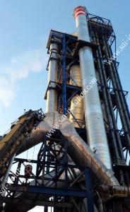 Calorifugeage, Isolation thermique des cheminées