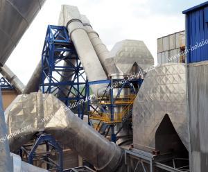 Calorifugeage industriel, Isolation thermique des équipements