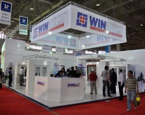 Stand d'exposition am�nag� WINTECH
