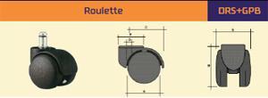 Roulette de chaise