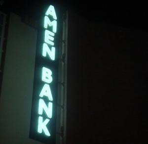 Enseigne Banque