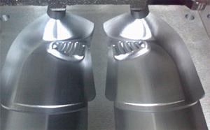 Usinage d'empreintes de forme gauche