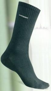 Mi-chaussettes noires