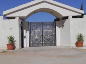Porte hi tech avec digi code tunisie for Porte fer forge tunisie