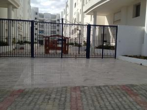Porte fer forgé