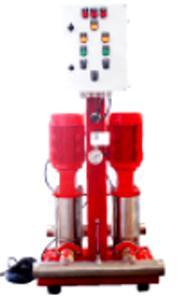 Surpresseur d'eau sanitaire et d'incendie
