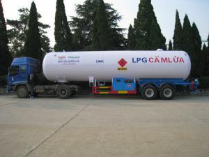Semi-remorque LPG de 47.5m3
