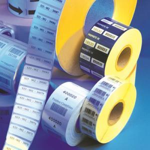 Étiquettes autocollantes imprimées