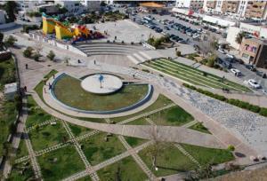 Projet réalisé : Place à el MENZAH 6