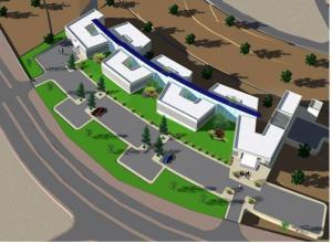 Projet de concours: Hôpital régional à MEJEZ  EL BEB.
