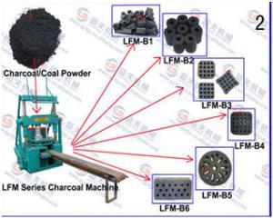 Unité d'extruxion de charbon