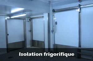 Isolation Frigorifique
