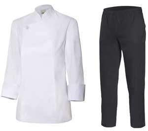 Tablier et pantalon de cuisine