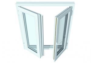 Fenêtre a la française à 2 panneaux en pvc