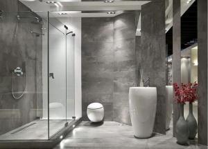 Cabine de douche forme rectangulaire