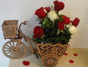 Bicyclette de mariage