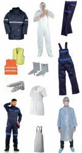 Vêtements de travail pour l'industrie