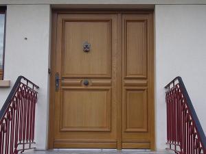 Porte blindée extérieur