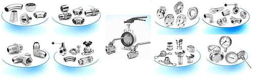 Accessoires et tuyauteries INOX