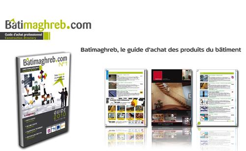 Batimaghreb le guide d achat des produits du b timent tunisie for Guide du batiment