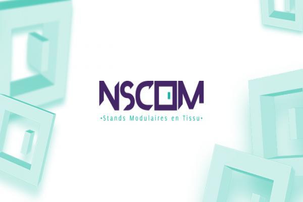 NSCOM: stand modulaire en tissu