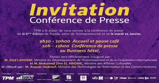 Conférence de presse Riyeda 2019